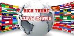 dich thuat cong chung tai Lam Dong